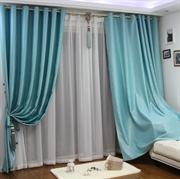 伊佳仁 顶级舒毛绒高档遮光窗帘 客厅卧室加厚隔音遮阳窗帘成品