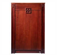 huari华日 现代中式 木质 鞋柜/门厅柜/边柜仿古小窗岁月 d9412yy-1t0