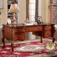 caesar palace凯撒豪庭 美式古典 木质 书桌 ksht-ksh-l001-sz