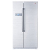 haier海尔 bcd-602wm对开门冰箱 602升大容量