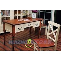 huizhong汇众家居 美式乡村 木质 书桌 248
