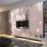 MESU米素 简约现代 壁画 卧室客厅电视背景墙 花印JY-201210