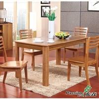 派森家具  现代伸缩餐桌 木质可拉伸饭桌 ps-ct001