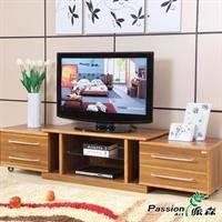 派森家具 简约时尚板木电视柜 地柜 床尾柜 客厅电视柜 ps-tv005