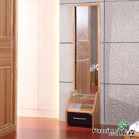 派森家具 现代简约穿衣镜  实木框架试衣镜  全身镜子 ps-cyj001