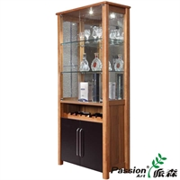 派森品牌 简约时尚 玻璃酒柜 门厅玻璃酒柜 餐厅厨房酒碗柜 ps-jg001