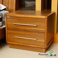派森家具 木质卧室床头柜/简约储物柜/小收纳柜 ps-ctg001