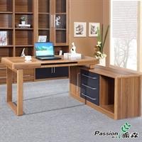派森家具 木质书桌 台式转角电脑桌  ps-st002