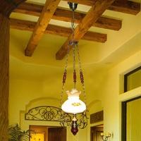 boximiya波西米亚 美式乡村 锌合金吊灯 餐厅客厅 5008-1s