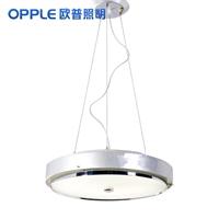 opple欧普 简约现代 玻璃钢餐吊灯 餐厅 10-pt-15021天使光环