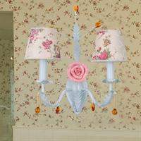 boximiya波西米亚 田园 布艺壁灯 饭厅餐厅卧室 玫瑰花-2