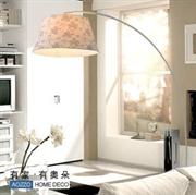 AOZZO奥朵 田园 铁艺落地灯 客厅卧室 FL30004钓鱼灯饰