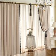 伊佳仁 韩式高档窗帘 客厅卧室儿童房遮光窗帘 遮阳布帘成品