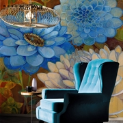 MESU米素 欧式 壁画 卧室客厅电视墙背景墙 花生花OS0021