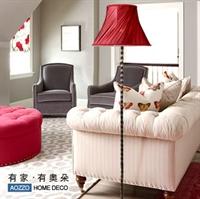 【新品】aozzo奥朵 欧式 复古铁艺落地灯 客厅卧室 fl30015
