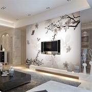 MESU米素 现代中式 壁画 客厅卧室电视背景墙 XZS-0002春色满园