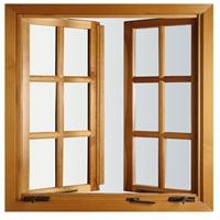美沃古典系列木制拖拉窗011