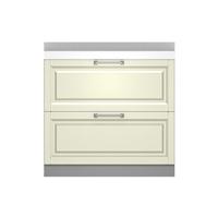 金牌厨柜 桔家简欧田园抹茶绿整体厨房橱柜 地柜1
