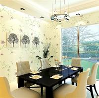 yulan玉兰 田园 pvc墙纸 客厅卧室书房 田园牧歌148601