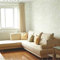 yulan玉兰 欧式 绒面墙纸 卧室客厅 布尔乔亚138201