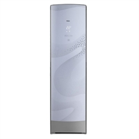 海尔(haier)kfr-72lw/62bcs21 3匹 无氟变频系列 立柜式家用冷暖空调 (白色)