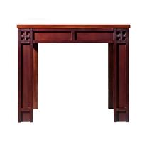 华日家具现代中式小窗岁月实木小方茶几边几角几d9952yy-1