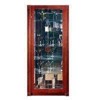 华日家居现代中式小窗岁月客厅家具实木酒柜展示柜d9222yy-1