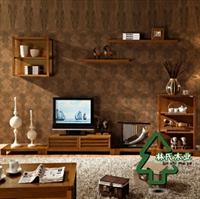 林氏木业客厅家具套装组合 东南亚风格zm-112r