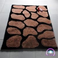 恒亚斯地毯 时尚蛇纹图案韩国丝 卧室茶几地毯 客厅地毯 t025