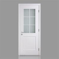乐淘淘木门 厨房门 玻璃门 木门 bl029