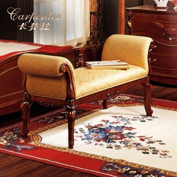 卡芬达 欧式床尾凳家具