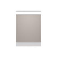 金牌厨柜 桔家 简约现代厨房门板 印象麻纹中灰整体橱柜 地柜4