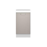 金牌厨柜 桔家 简约现代厨房门板 印象麻纹中灰整体橱柜 地柜1