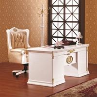 永旭家具 经典欧式 实木书桌 办公桌3068c