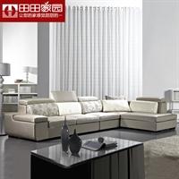 田田家园-现代简约布艺沙发 客厅组合沙发3902