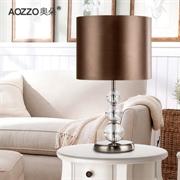 T【奥朵】台灯 现代简约水晶灯创意卧室床头 台灯灯具10060
