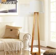 【奥朵】现代木艺简约落地灯具客厅灯卧室灯书房灯具灯饰80004