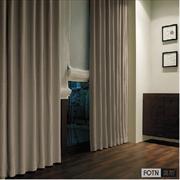 FOTN 富勋定制 美式客厅卧室 高贵纯色面料 定宽 SX7258B 窗帘