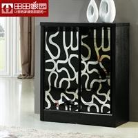 田田家园家具-时尚简约宜家现代鞋柜 收纳柜 储物柜 5430#