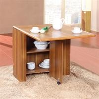 派森家具 简约折叠餐桌椅组合 小户型家具伸缩餐台 板木餐桌 ps-ct005