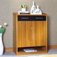 派森家具 时尚简约木质玄关门厅柜 收纳防尘鞋柜 ps-xg001