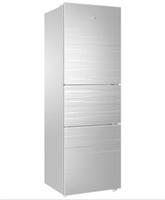 海尔(haier)bcd-215secrj冰箱 215升 彩晶玻璃面板电脑控温冰箱