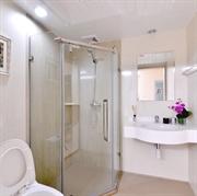 整体卫生间,整体浴室,VCM一体化地面,防漏水,SMC整体淋浴房