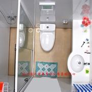 整体卫生间,整体浴室,卫浴一体,SMC浴室,家庭专用防水防臭
