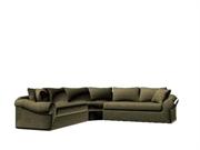 复古沙发L型