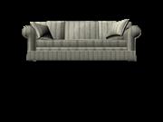 现代白蓝色沙发
