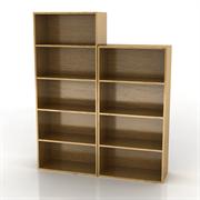 家乐铭品组合书柜B458L 书架文件柜木柜子
